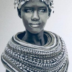 Samburu girl from Kenia, by Mario Gerth