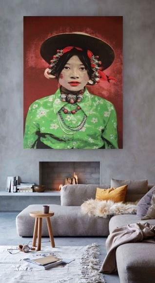 Steve McCurry Tibetan girl