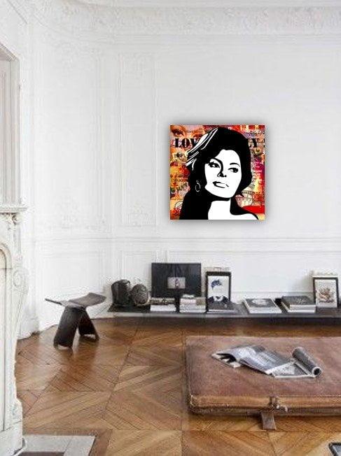 Sophia Loren Mixed Media