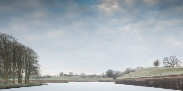 Wintersday, Naarden by Marie-Claire Greve