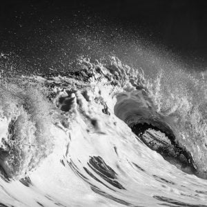 Angry wave, Biarritz, France by Marie-Claire Greve