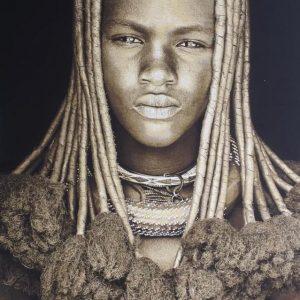 Himba girl from Namibië by Mario Gerth