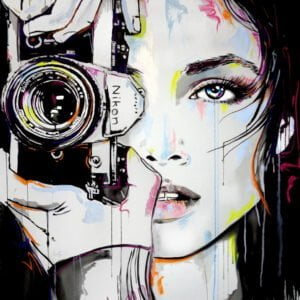A bigger zoom by Loui Jover