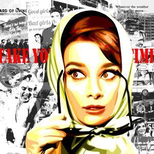 Fifties - Audrey Hepburn