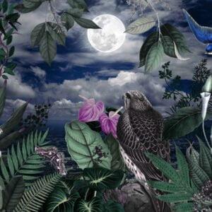 Fantasy Jungle 2 by Sam Lovemore Art