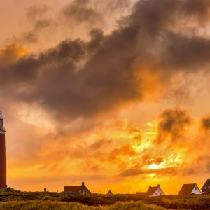 Red Lighthouse on Texel