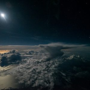 Above the Caribbean Ocean by The Stormpilot