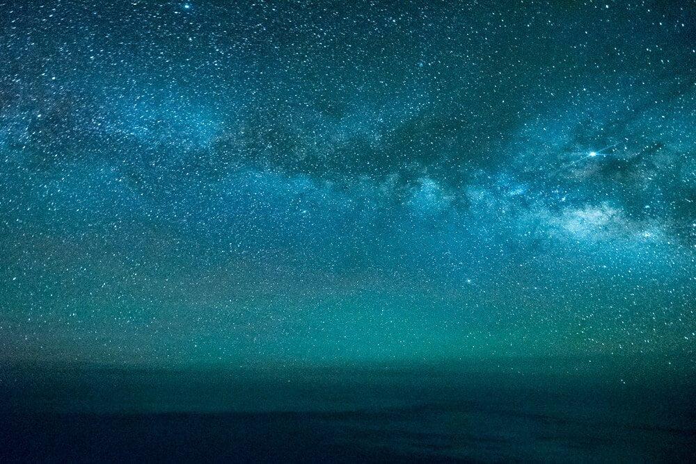 Milky Way by Santiago Borja aka The Stormpilot
