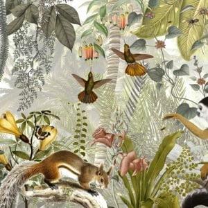 Fantasy Jungle 3 by Sam Lovemore Art
