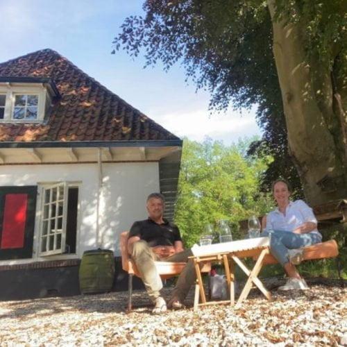 Arie van den Hout en Nicky Huisman