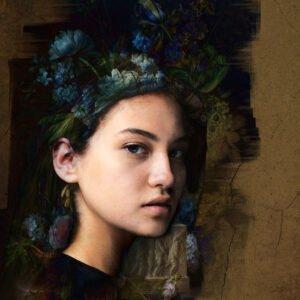 Blue Flowers | Digital Photo Art